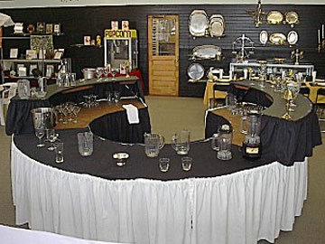 Showroom of party ideas in Buffalo NY
