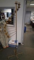 Rental store for 15 LIGHT BRASS SPIRAL FLOOR CANDELABRA in Buffalo NY
